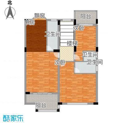 樱花别墅户型3室