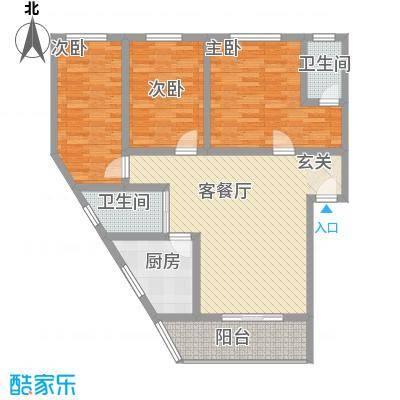 明鑫苑2户型