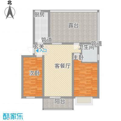 家和苑5.00㎡A1户型2室1厅1卫1厨