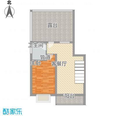 家和苑68.00㎡C1户型1室1厅1卫