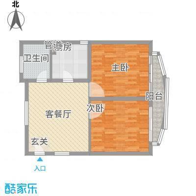 新领地4.40㎡上海户型