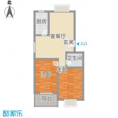 东福嘉苑1.48㎡太原户型