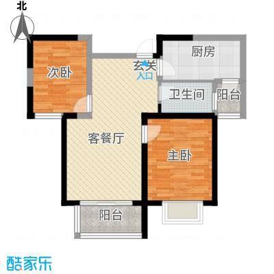 鹭悦豪庭2户型