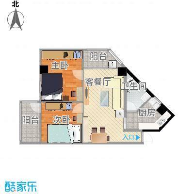 广州_馨怡花苑双阳台