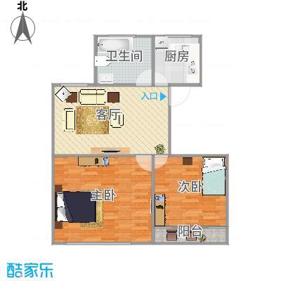 上海_江桥三村七街坊621弄71--211_2015-08-28-1018