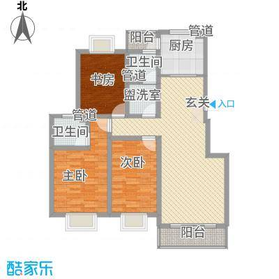 天地新城户型3室