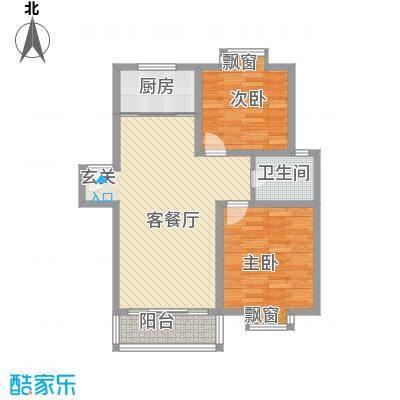 望馨花苑4.30㎡户型