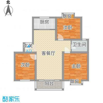 望馨花苑18.40㎡户型