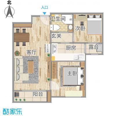 北京海航国兴城的户型图
