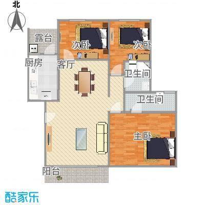 广州_谷围新村_109m2