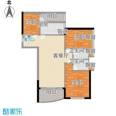 华景西苑18.00㎡户型4室