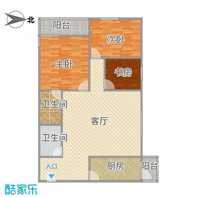 北京_欧陆经典19号楼1001室3居两卫西北向_2015-09-13-1638