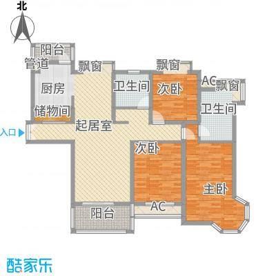 金色维也纳别墅金色维也纳别墅户型图上海金色维也纳户型图3室2厅2卫1厨户型3室2厅2卫1厨-副本