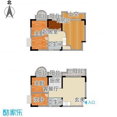 碧园花城146.00㎡9栋e1户型1室1厅1卫1厨