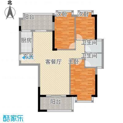 南港名轩4栋2203户型