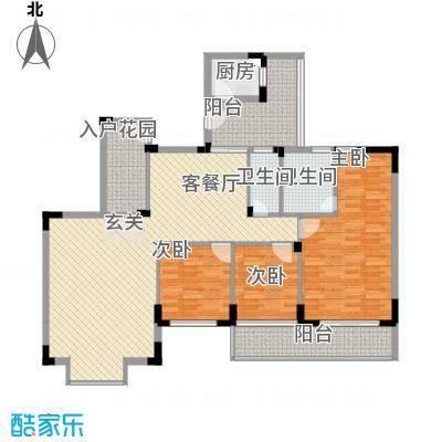易筑13.88㎡4栋0户型3室2厅2卫1厨