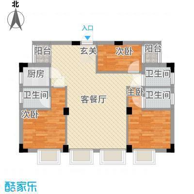 易筑84.10㎡9栋、10栋0户型3室2厅3卫1厨