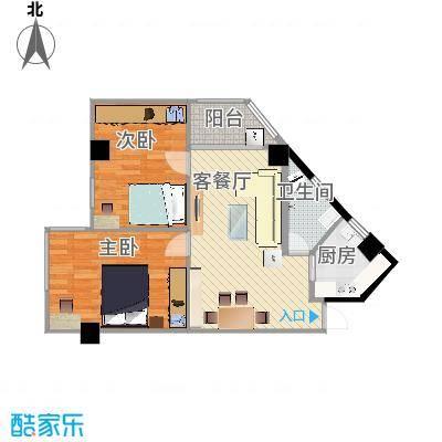 广州_馨怡花苑_单阳台2