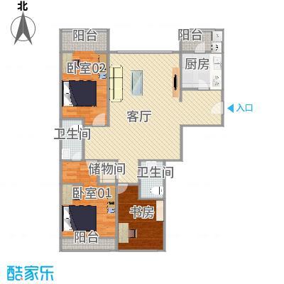 北京_朝阳朝青润枫水尚2号楼3单元第6层605_2015-08-28-2153