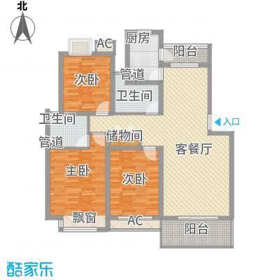 京东小区E区户型2室-副本