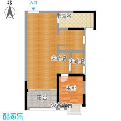大信桂竹园86.82㎡B户型-副本