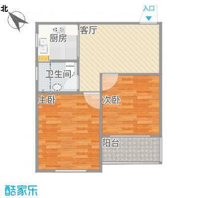 上海_党校家属小区实际尺寸图_实际户型