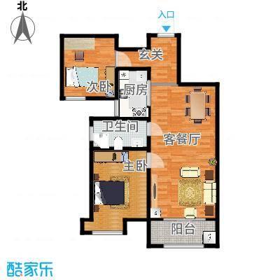 海棠湾A2两室两厅A2100.7㎡-副本