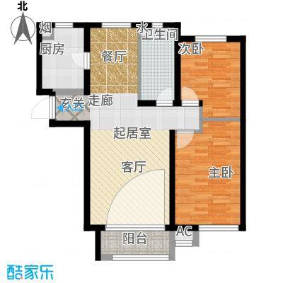 燕赵锦河湾一期F3户型95㎡-昝-耐磨板