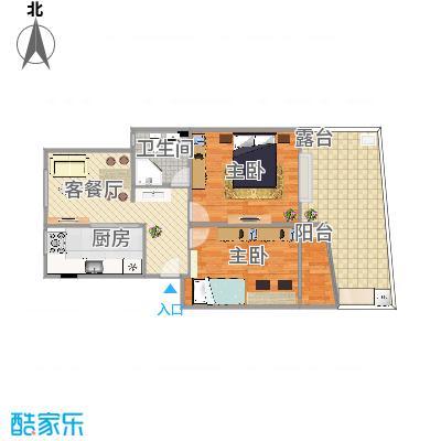 上海_黄山始信苑_26号101室_方案3