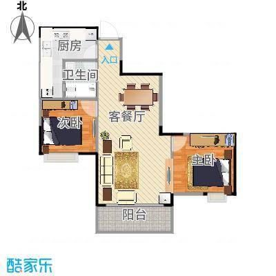重庆黄龙花园6号户型