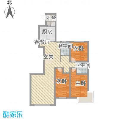 东湖丽景143.50㎡9户型