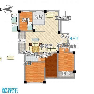 康乐家园户型5室2厅2卫1厨-副本