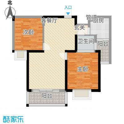 吉立・浅水湾87.14㎡A2户型