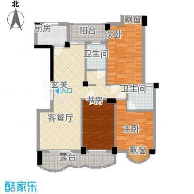 中地・滨江国际14124.20㎡14号楼户型3室2厅2卫1厨