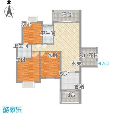 聚福新城11134.76㎡F11户型