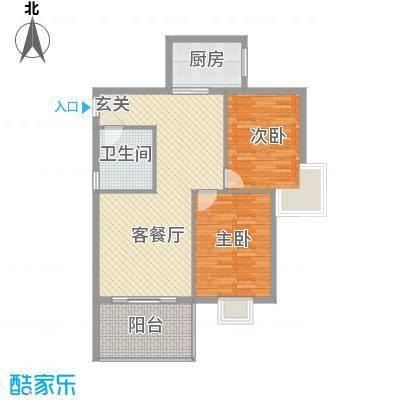 聚福新城22.20㎡C22户型