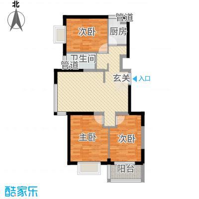 隆兴宜居11.64㎡8户型3室2厅1卫1厨