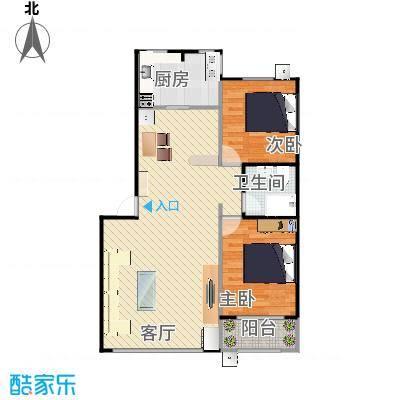 北京_三山新新家园-88平两居室_2015-09-03-0842