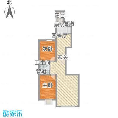 东湖丽景14.30㎡5户型