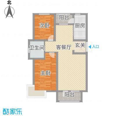 宝地-福湾218.20㎡D户型2室2厅1卫1厨