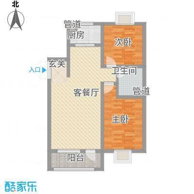 宝地-福湾216.20㎡G户型2室2厅1卫1厨