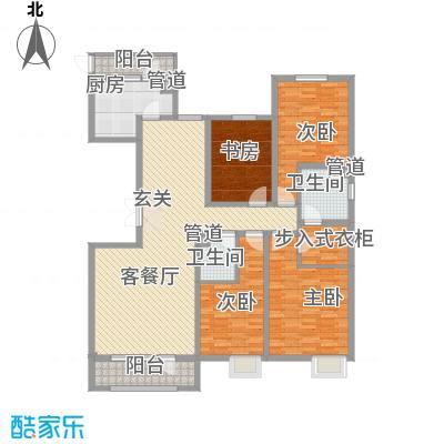 亿隆国际广场188.56㎡D1户型4室2厅2卫