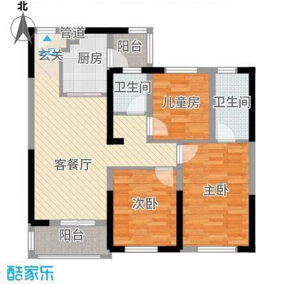 合能十里锦绣38/39号楼A2户型