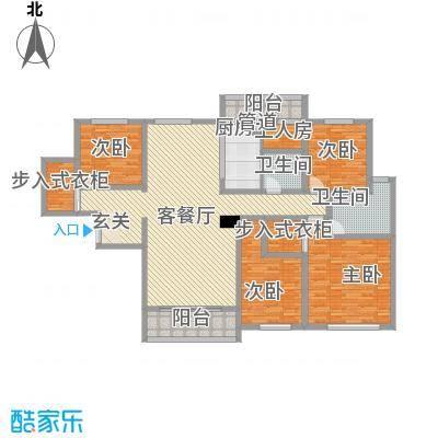 兴光-凯旋帝景22.42㎡畅想阔绰典雅户型5室
