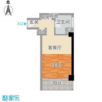 利港・尚公馆2户型