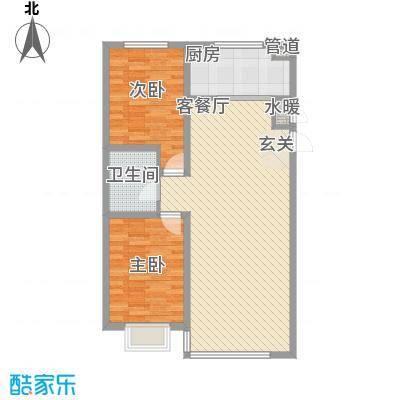 东湖凤还朝12.13㎡创新锦州乐户型2室2厅1卫1厨