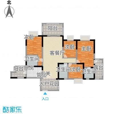 明源国际三期216.42㎡I2户型4室2厅2卫1厨