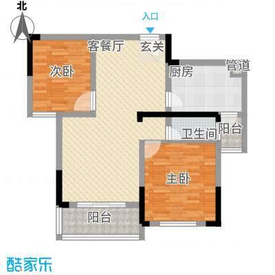 天邦・紫金苑5栋L户型