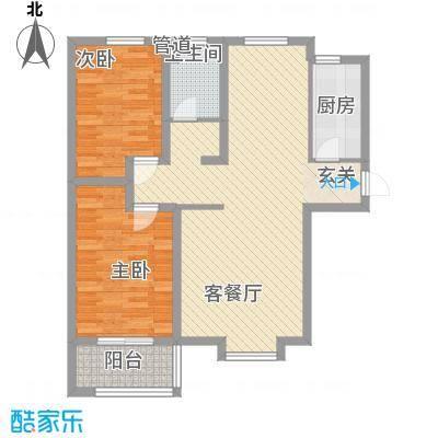 熙凤居15.00㎡A11户型