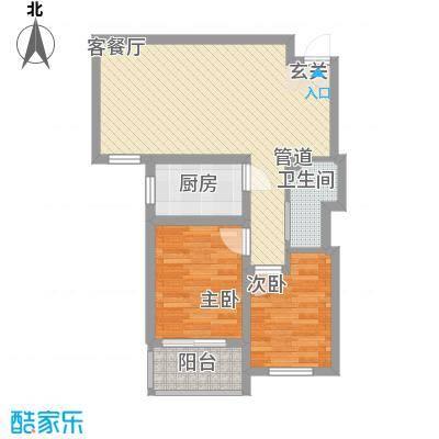 熙凤居75.00㎡A5户型